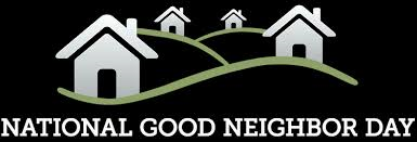 Nationa Good neighbor day